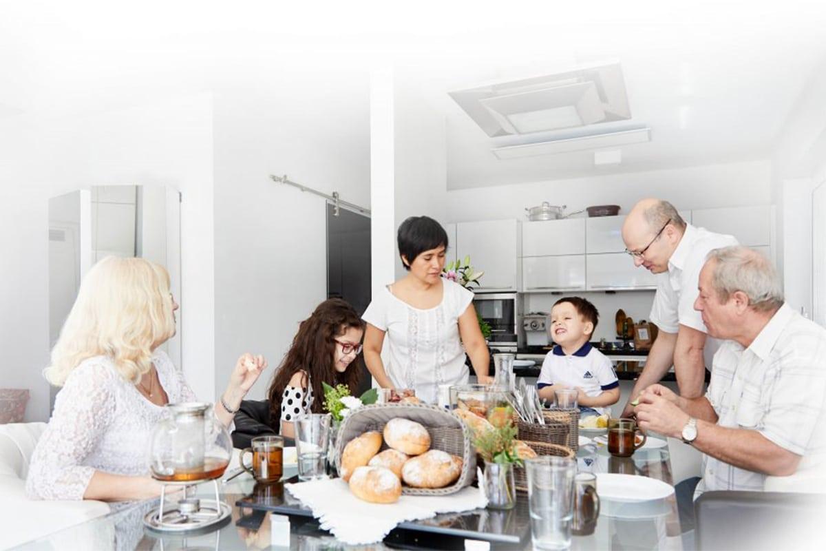 Glutenfreies Backen mit Smartmehl - Familie