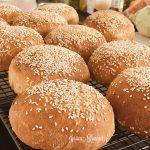 Glutenfreie Hamburger Brötchen (maisfrei)