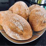 Glutenfreie Ruck-Zuck Brötchen ohne Gehzeiten (maisfrei, vegan)