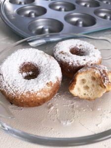 Glutenfreie Ofen-Donuts (maisfrei)