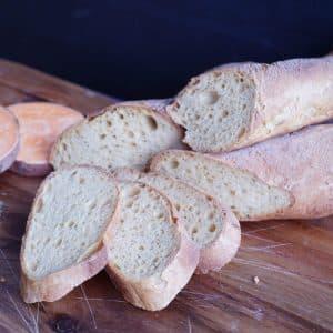Glutenfreies Süßkartoffel-Baguette