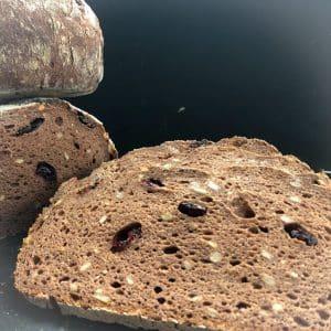 Jessicas glutenfreies Cranberries Brot (maisfrei, vegan)