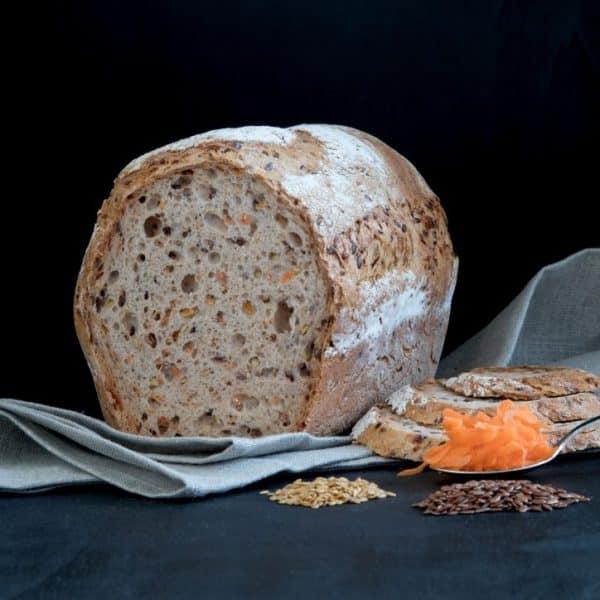 Glutenfreies Karotten Brot