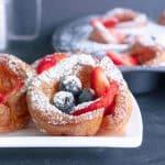 German Mini-Pancakes aus dem Backofen