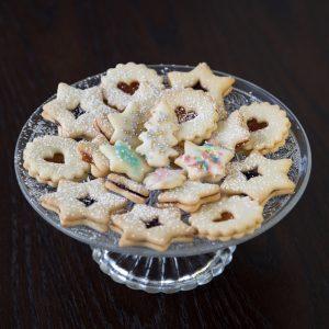 Glutenfreie Weihnachtsbäckerei